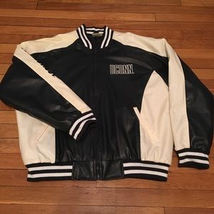 Vintage UCONN University of Connecticut Russell Athletic pullover Jacket mww4kQZgQO